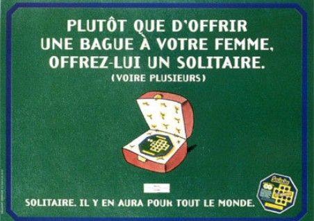 FRANCAISE DES JEUX / LE SOLITAIRE