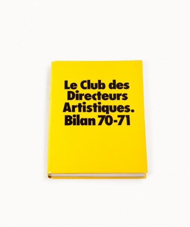 Livre annuel 1970-1971